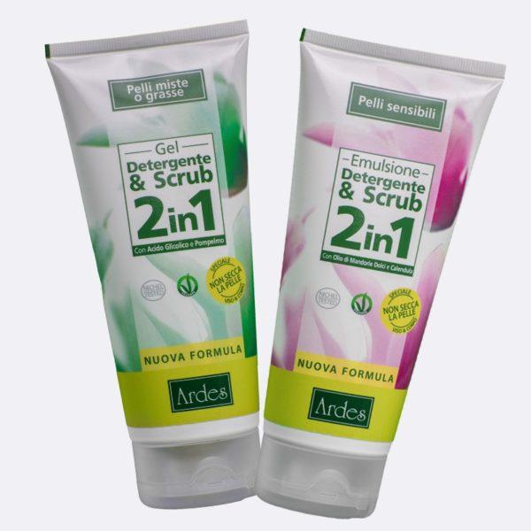 Gel Detergente e Scrub 2in1