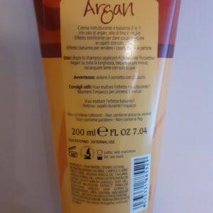 Rigenerante tricoattiva lucidante Argan