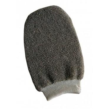 Guanto esfoliante lino cotone