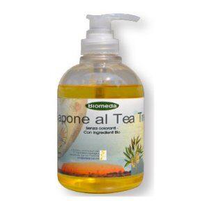 Sapone liquido con Tea Tree Oil